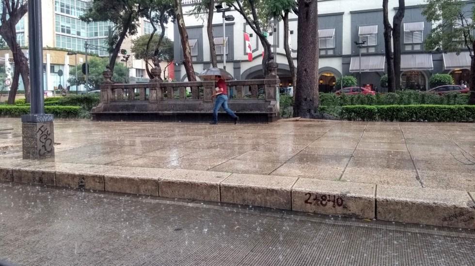 Alerta amarilla por lluvias en toda la Ciudad de México