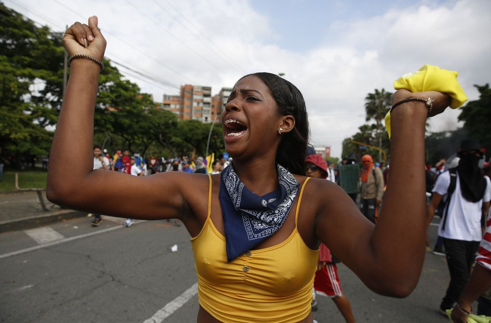 """Colombia """"se para"""" contra el Gobierno de Iván Duque"""
