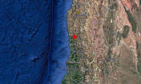 terremoto sacude centro de Chile