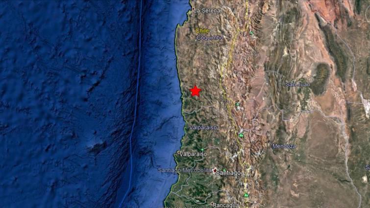 Un terremoto de magnitud 6.3 sacude el centro de Chile