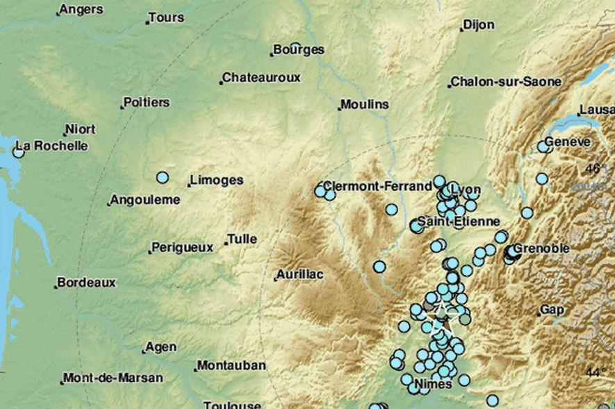 terremoto sur de Francia