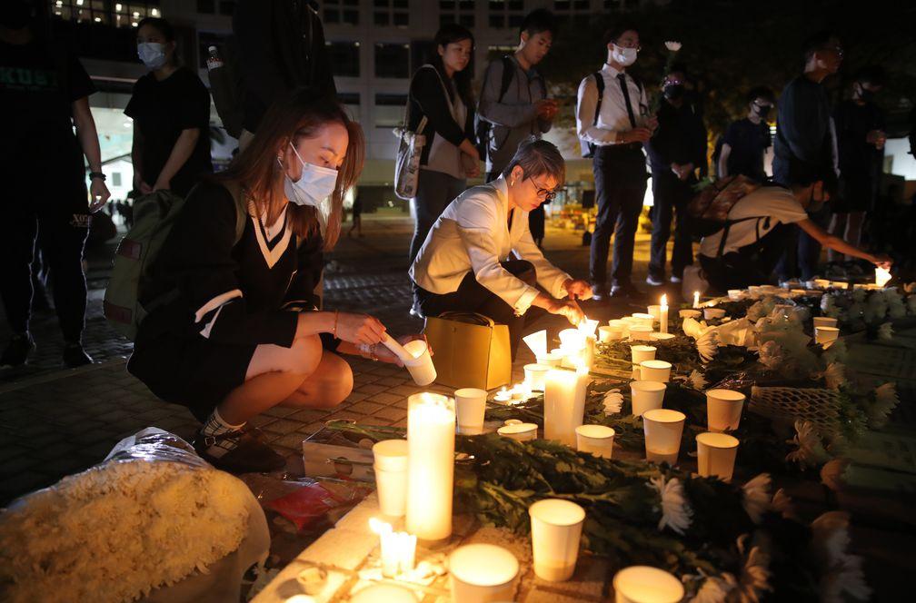 Fallece el estudiante que cayó de un edificio en las protestas de Hong Kong