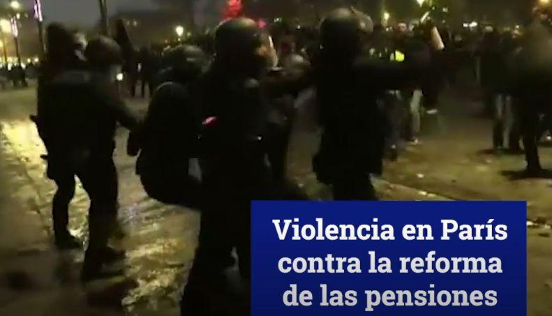 La huelga contra la reforma de las pensiones paraliza Francia