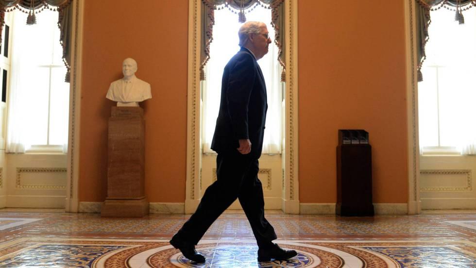 Demócratas y republicanos chocan por los términos del juicio a Trump