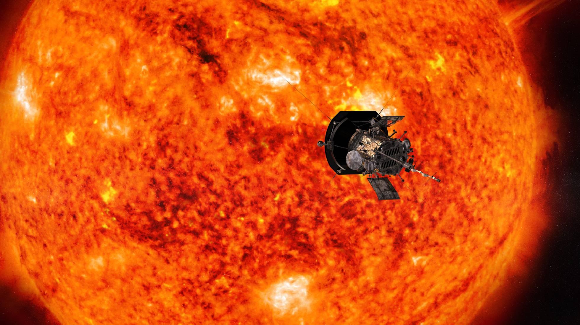 Una nave entra por primera vez en el Sol