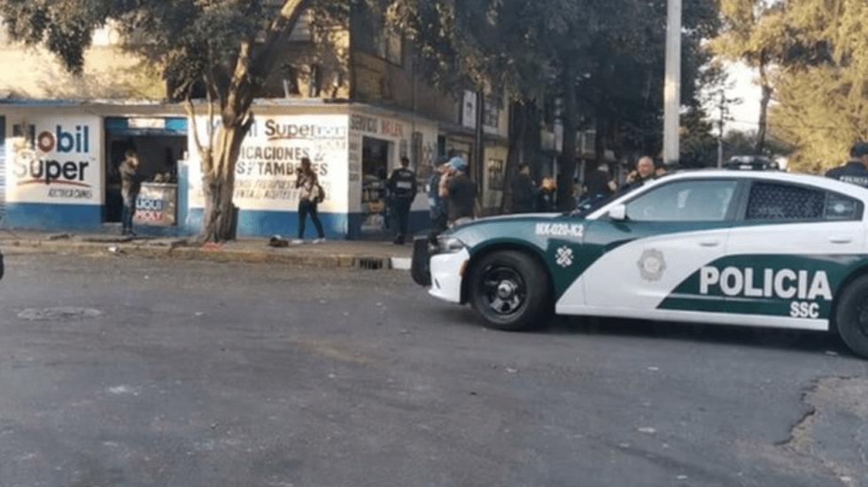 Ataque con armas de fuego deja un muerto y dos heridos en Iztacalco