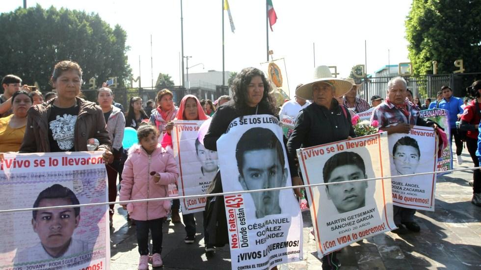 ayotzinapa padres manifestacion iguala normalistas