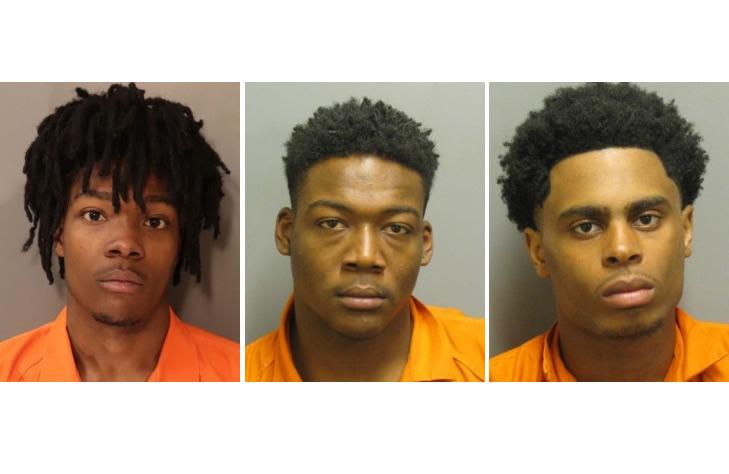 El Departamento de Policía de Montgomery detiene a 3 personas, con más de 200 delitos graves en robos de vehículos
