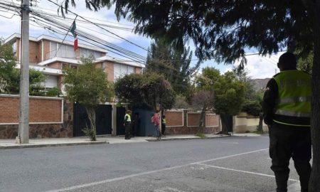 embajada Mexico en Bolivia