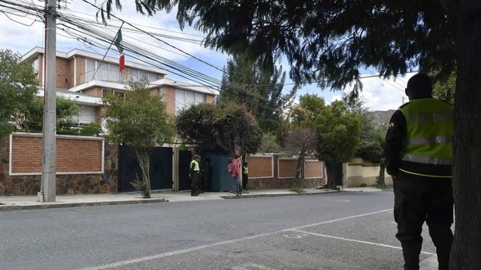 México mantendrá protección a bolivianos asilados en embajada