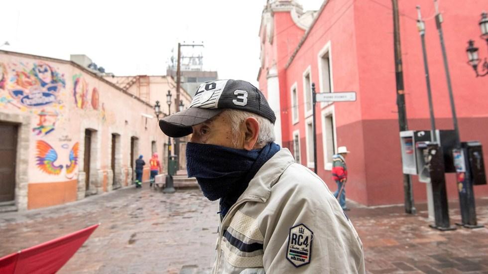 frente frio mexico clima coahuila