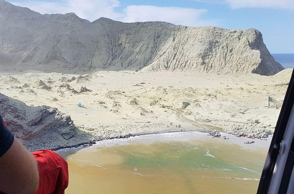 Nueva Zelanda importa 100.000 centímetros cuadrados de piel para las quemaduras de los supervivientes del volcán