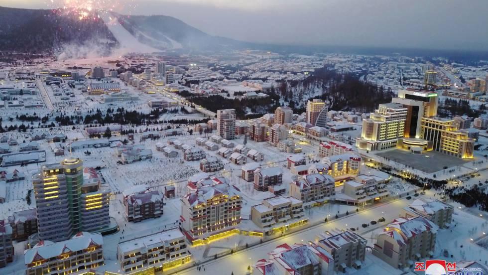 nueva ciudad norcoreana.