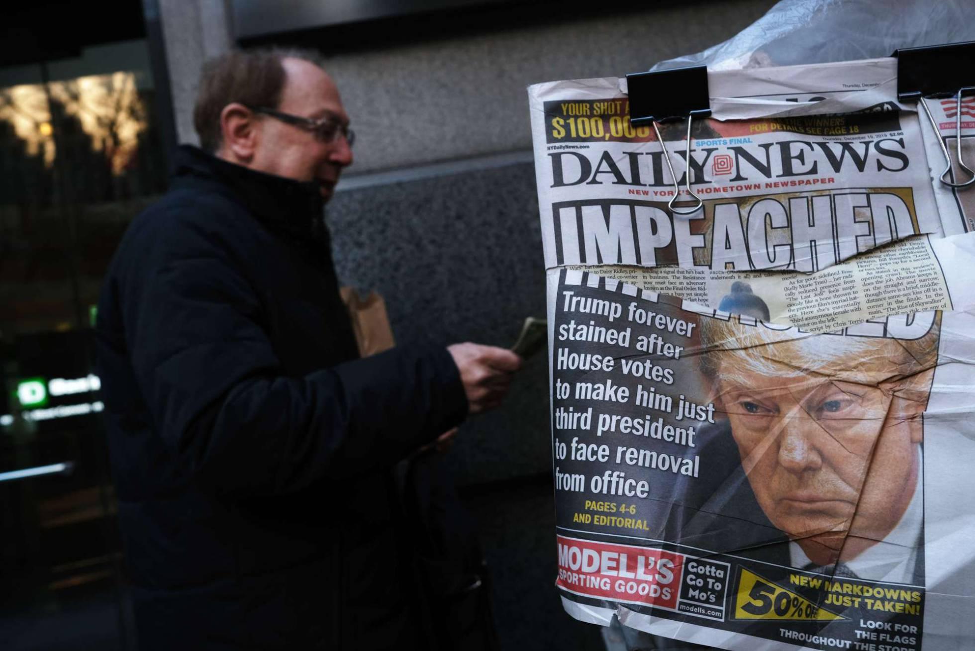 portada periodico Nueva York