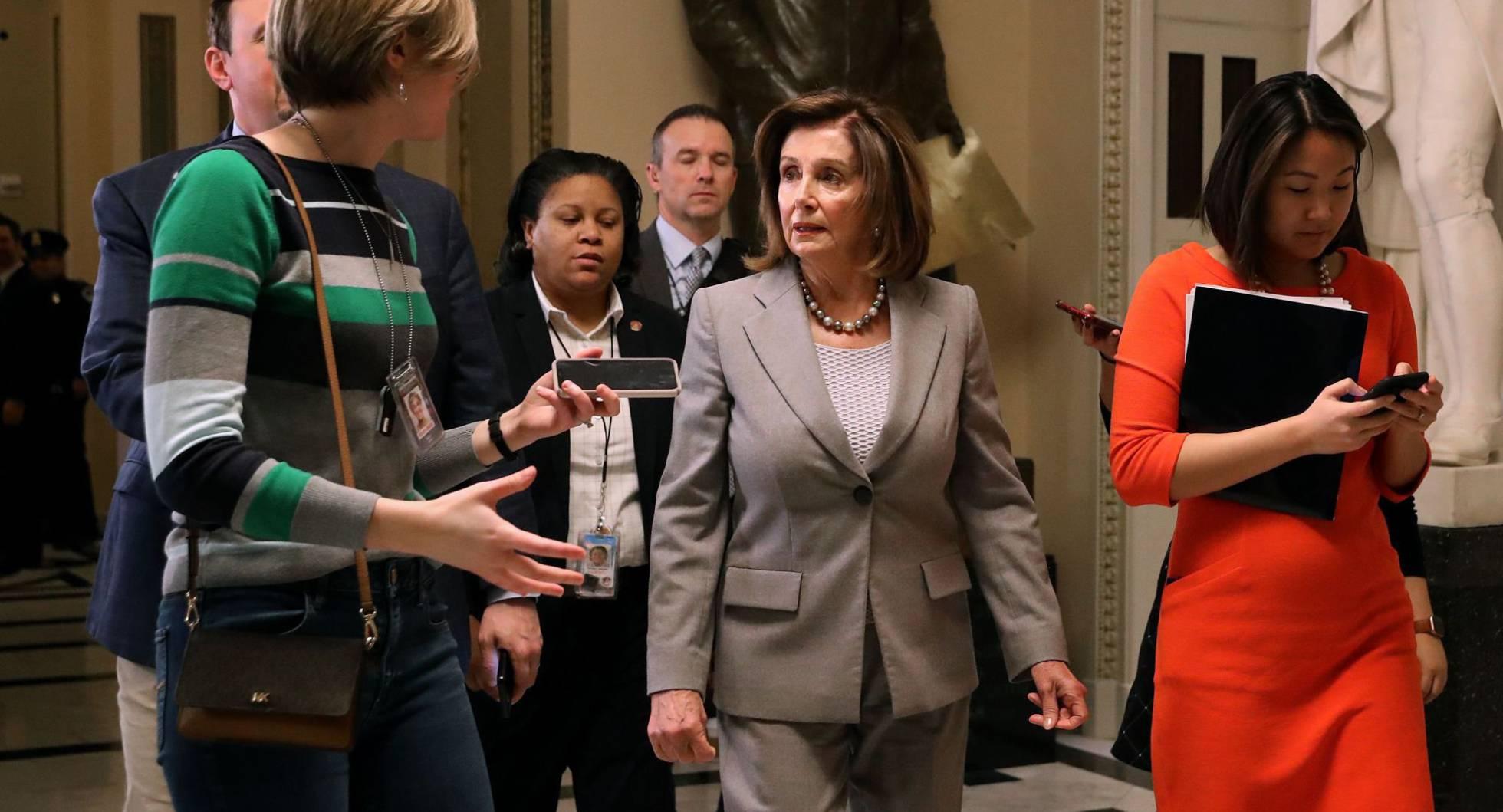 Nancy Pelosi en Capitolio