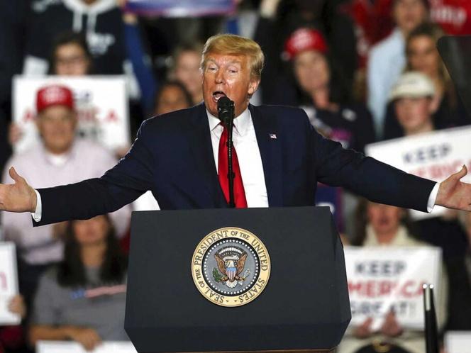 'México está pagando por el muro fronterizo', afirma Trump