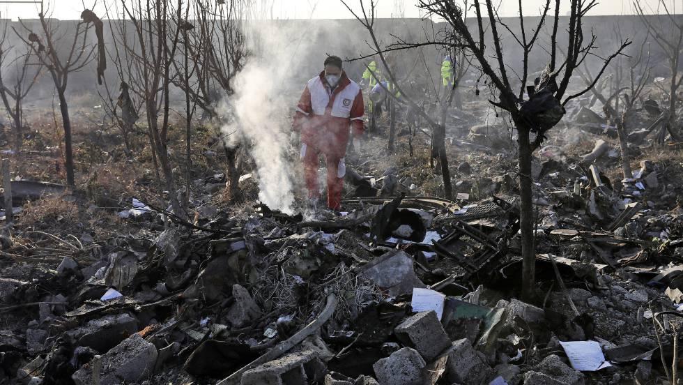 avion siniestrado en iran