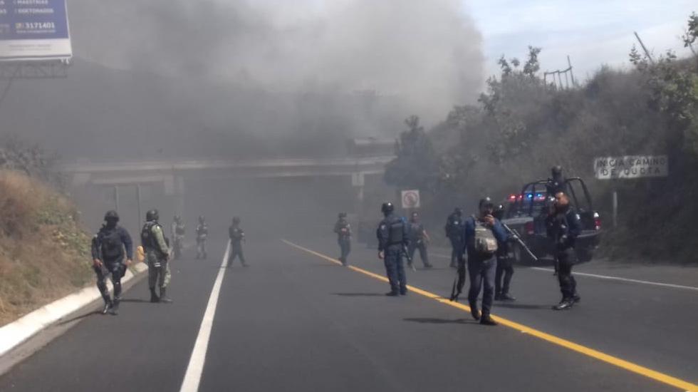 Detienen en Uruapan a 'El Vocho'; la situación está bajo control tras bloqueos