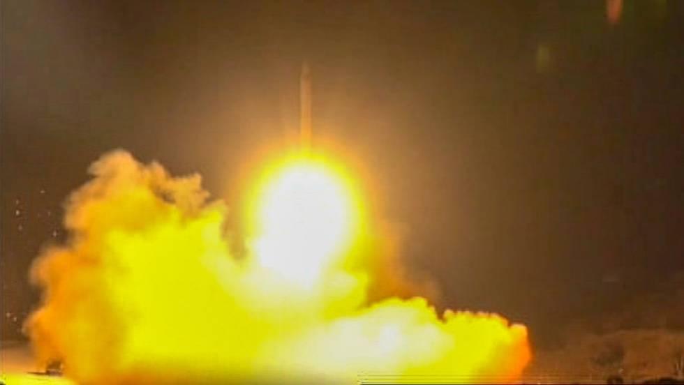 lanzamiento cohete contra base de EEUU