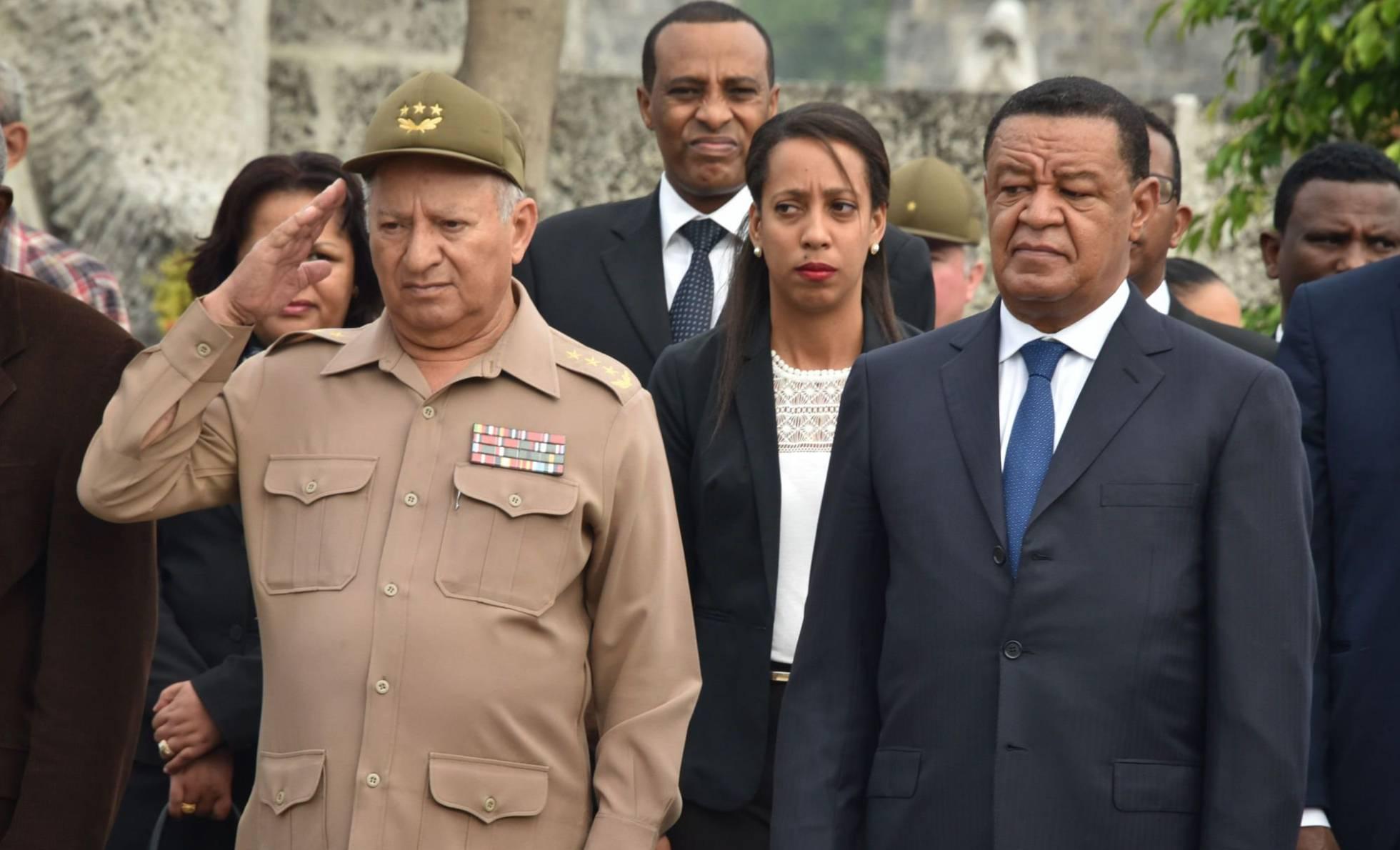 ministro de defensa cubano