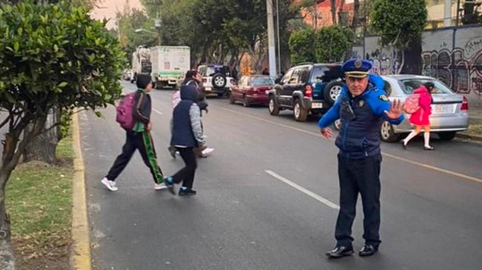 Más de 8 mil policías participan en operativo por regreso a clases