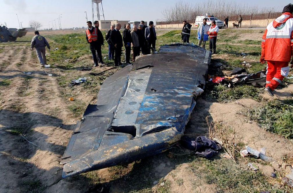 Irán reconoce que disparó dos misiles contra el avión ucraniano derribado