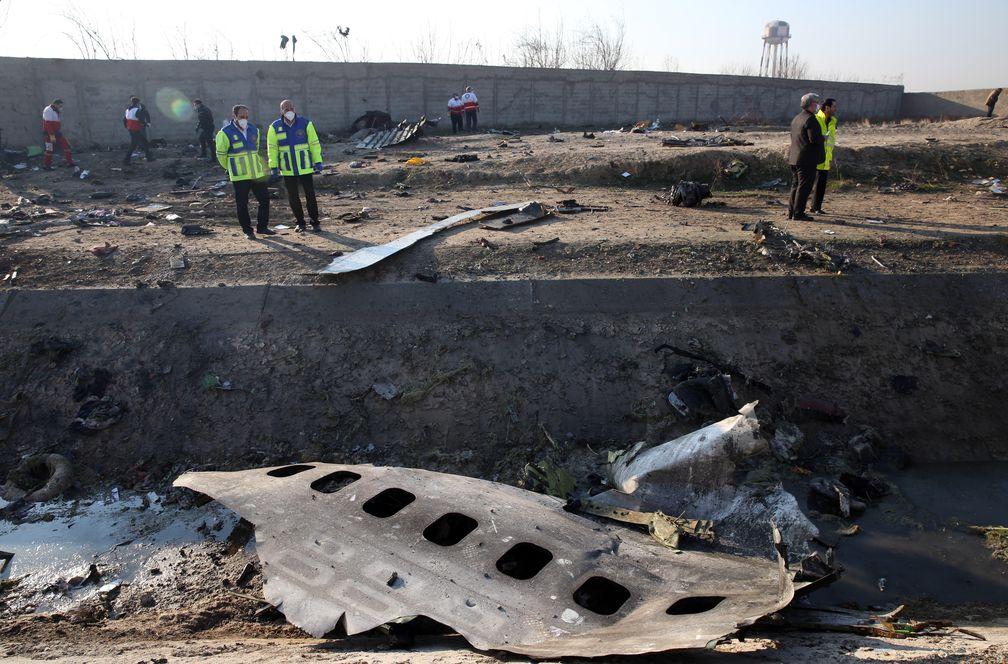 Una batería antiaérea iraní derribó el avión ucraniano, según la Inteligencia de EE UU