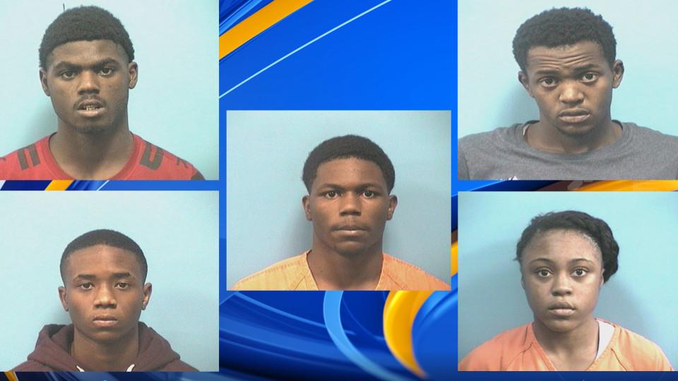5 acusados en el tiroteo fatal de estudiante del Ramsay High School