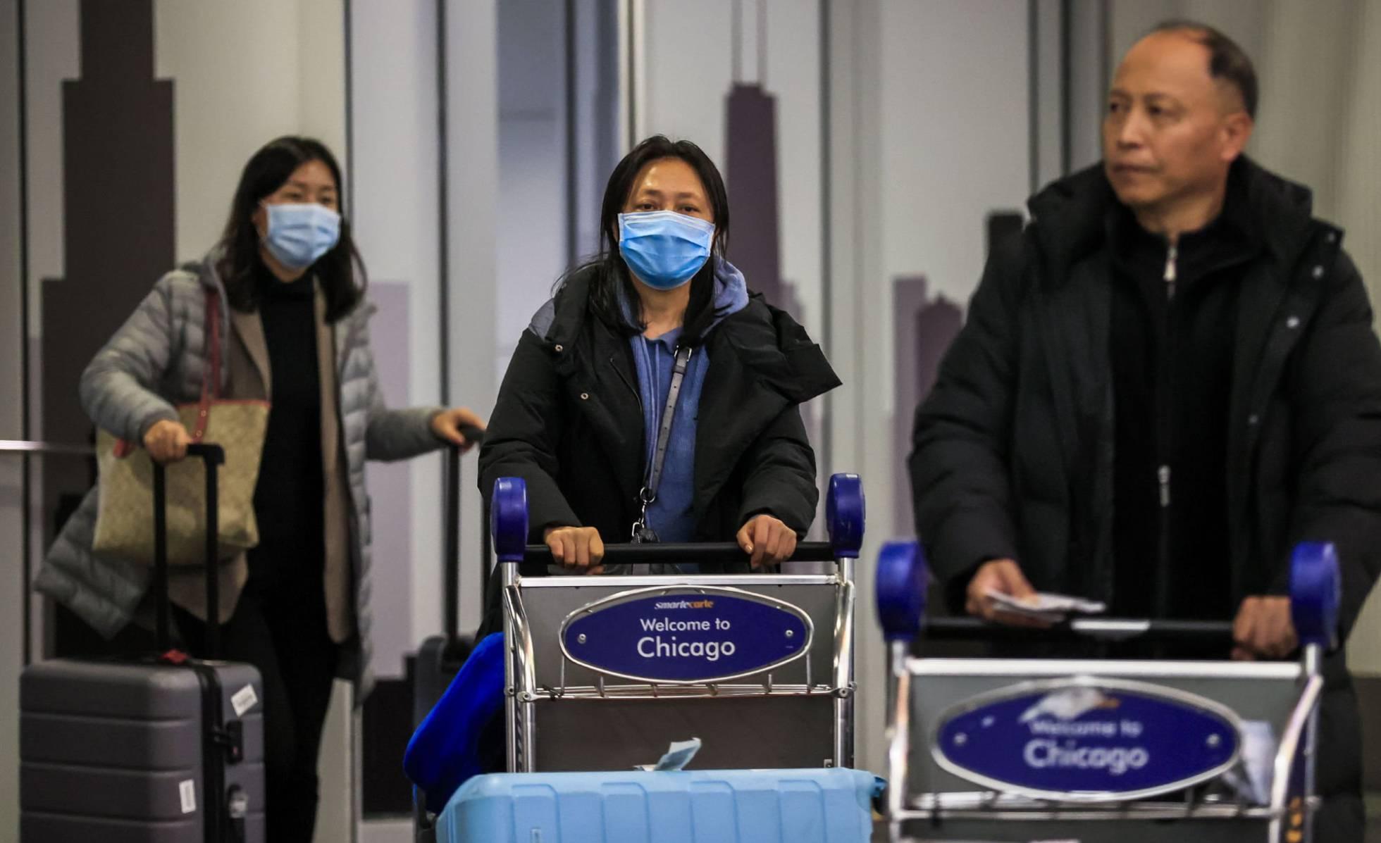 terminal de chicago contagiados coronavirus