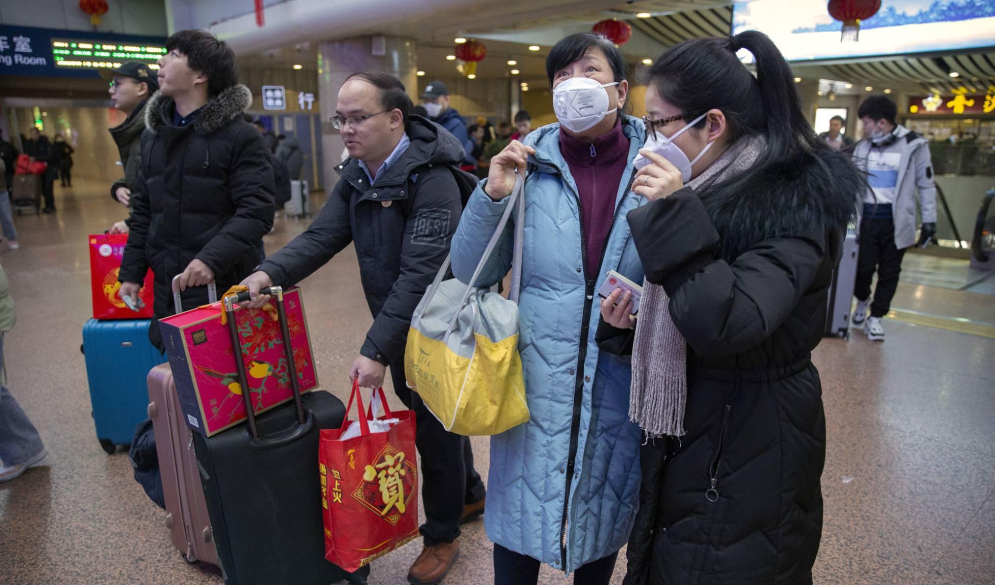 viajeros en Pekin