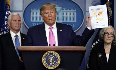 Donald Trump rueda de prensa
