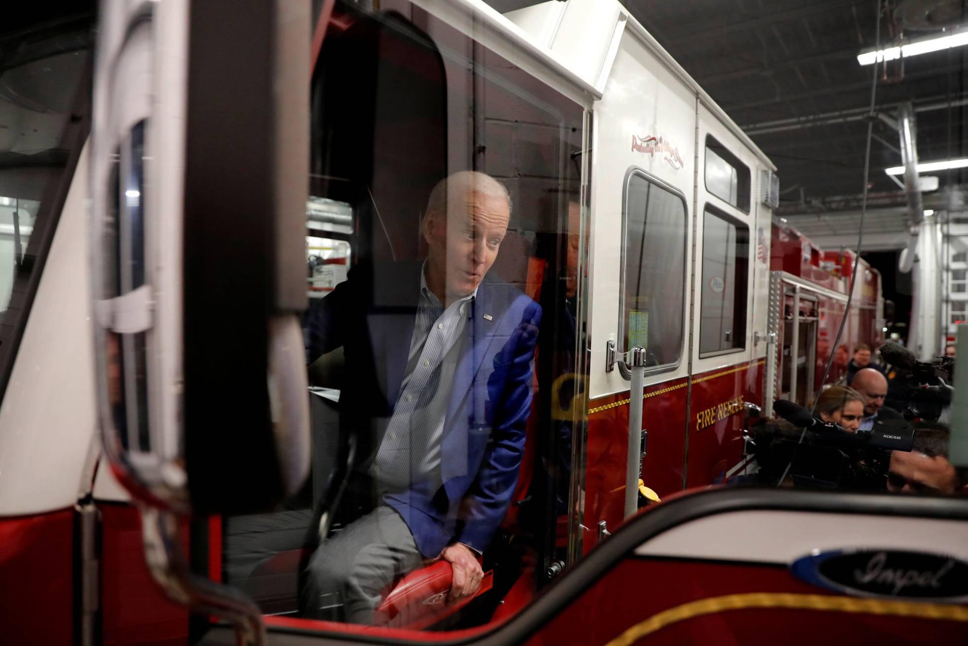Joe Biden cancela de forma abrupta su noche en New Hampshire para centrarse en Carolina del Sur