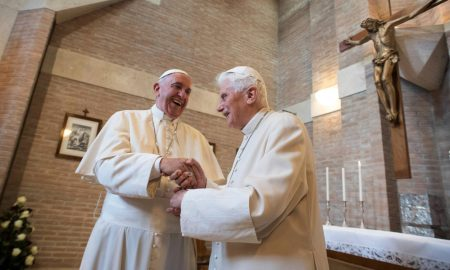 Papa Francisco y Benedicto XVI