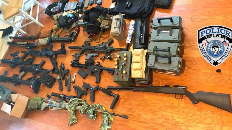 arresto por posesion de armas