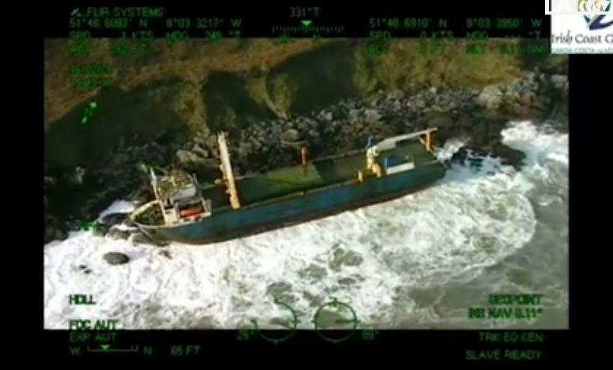 Llega a Irlanda un barco fantasma del Triángulo de las Bermudas