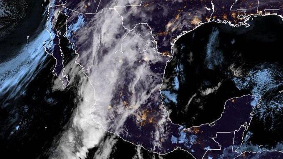 clima mexico se espera tormenta