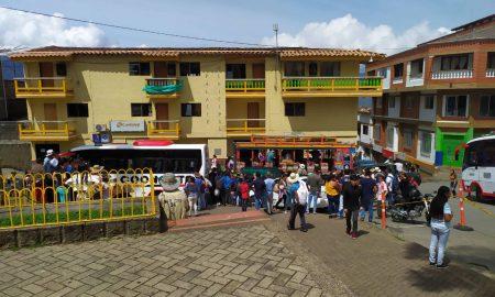 desplazados en Antioquia Colombia