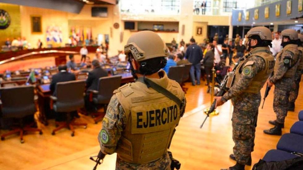 Estados Unidos califica como inaceptable irrupción del Ejército en Asamblea de El Salvador