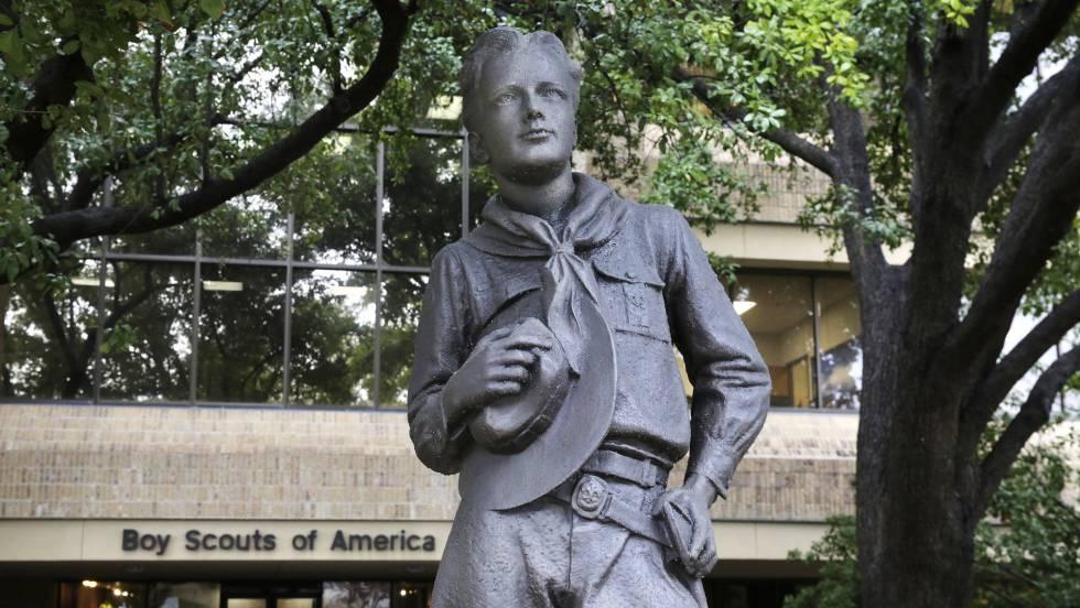 estatua scout texas EEUU