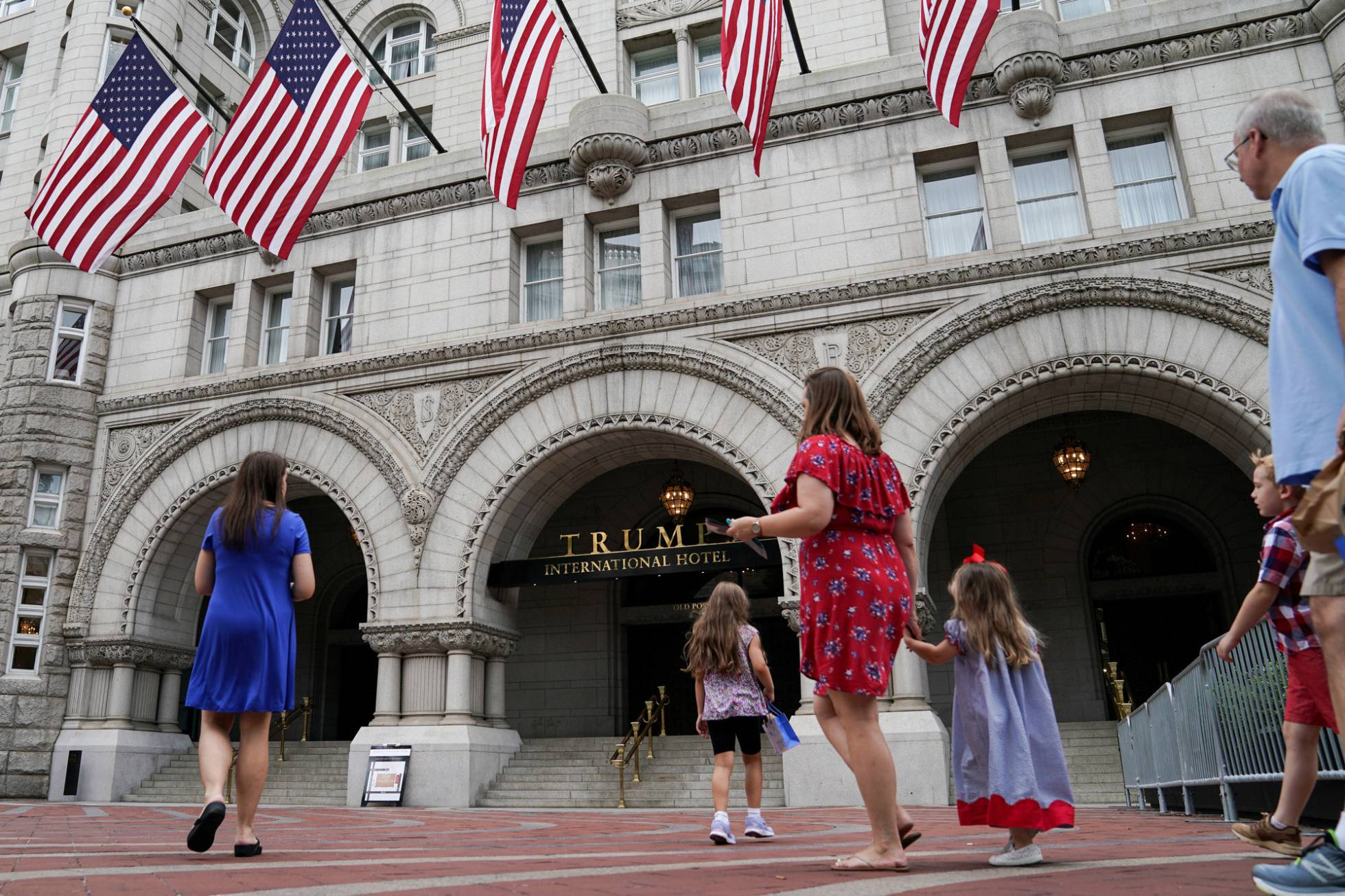 fachada Hotel Trump en Washington