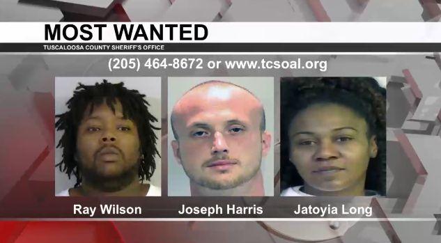 Los más buscados de Tuscaloosa: feb. 5, 2020