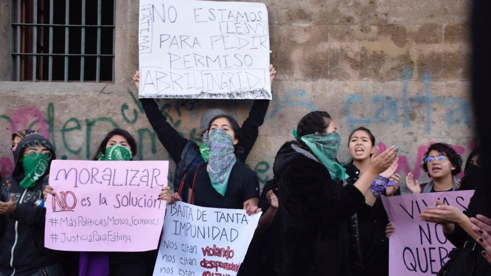 protestas colectivos feministas