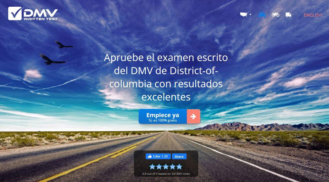 Apruebe el examen escrito del DMV, con exámenes de práctica gratuitos
