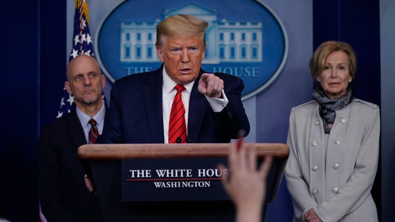 Donald Trump conferencia de prensa