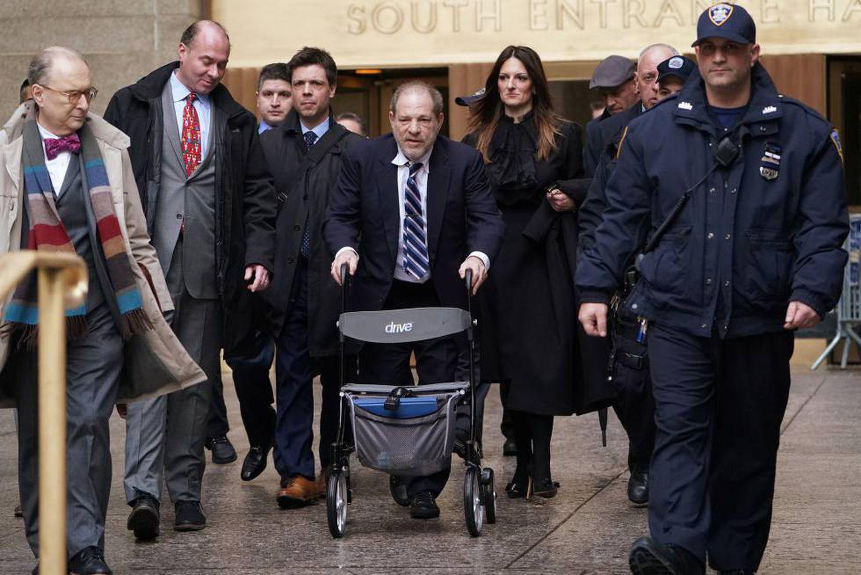 Weinstein, condenado a 23 años de cárcel