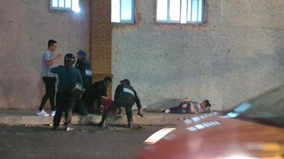Balacera en Avenida Constituyentes deja dos heridos
