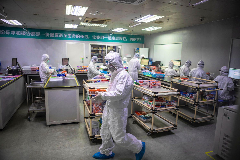 empleados china