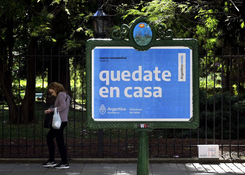Argentina declara la cuarentena obligatoria en todo el país