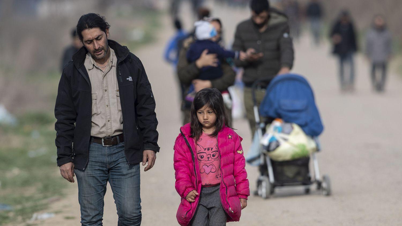 """Migrantes, en la frontera turco-griega: """"Aquí ya no tenemos casa ni amigos ni familia"""""""