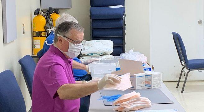 El condado de Tuscaloosa recibe casi 19,000 máscaras N95
